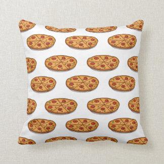 Modelo de la pizza de salchichones; Comida Cojín