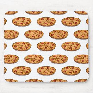 Modelo de la pizza de salchichones; Comida italian Tapetes De Ratón