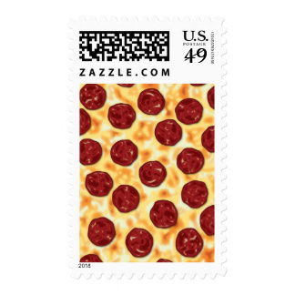 Modelo de la pizza de salchichones sello