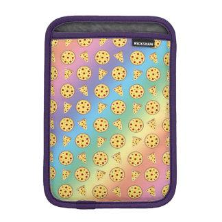 Modelo de la pizza del arco iris funda iPad mini