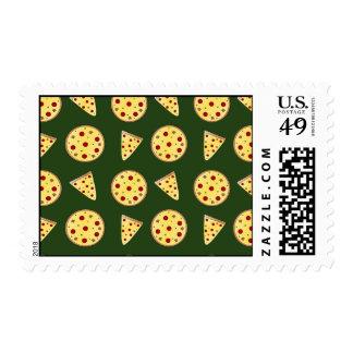 Modelo de la pizza del Forest Green Sello