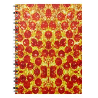 Modelo de la pizza note book