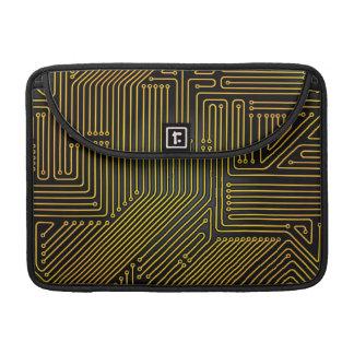 Modelo de la placa de circuito del ordenador funda para macbooks