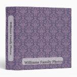 Modelo de la púrpura de las fotos de familia