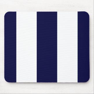 Modelo de la raya de la extra grande de los azules mousepad