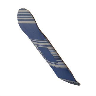 Modelo de la raya del gris azul de la pizarra patines personalizados