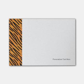Modelo de la raya del tigre nota post-it®