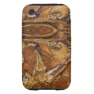 modelo de la roca de la piedra arenisca carcasa though para iPhone 3