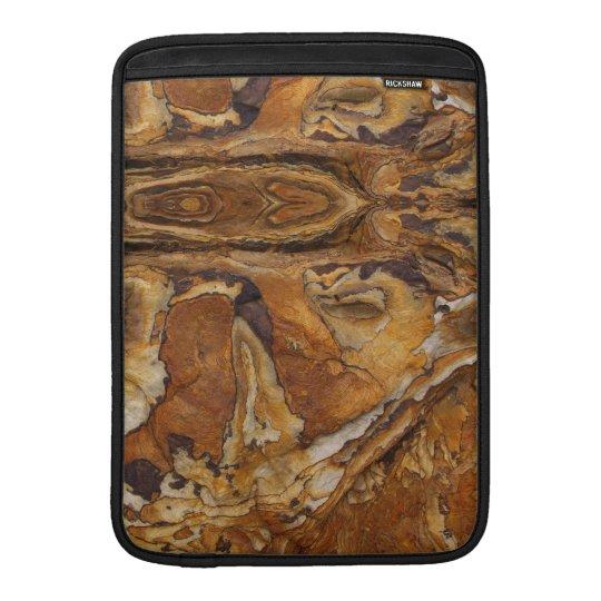 modelo de la roca de la piedra arenisca funda para macbook air