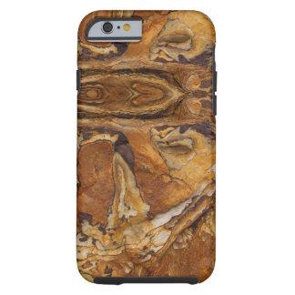 modelo de la roca de la piedra arenisca funda resistente iPhone 6