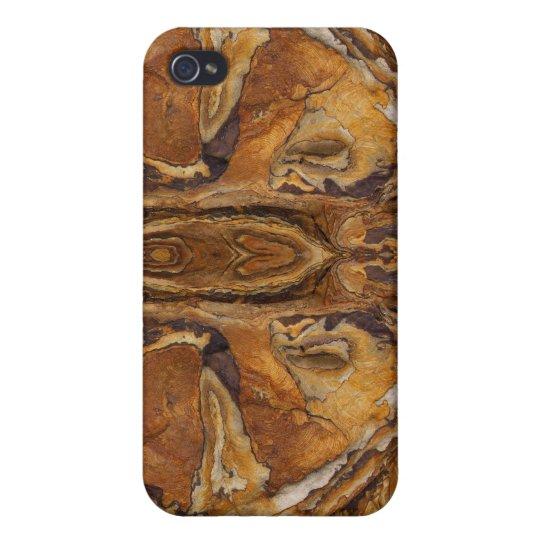modelo de la roca de la piedra arenisca iPhone 4/4S carcasa