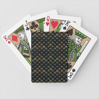 Modelo de la serpiente baraja de cartas