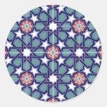Modelo de la teja del imperio de Seljuk Etiqueta