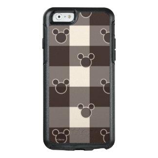 Modelo de la tela escocesa de Mickey Mouse el | Funda Otterbox Para iPhone 6/6s