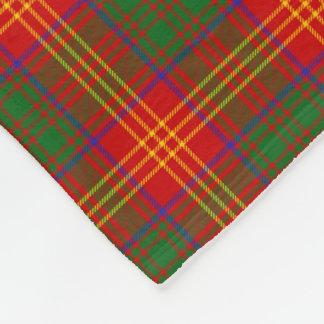 Modelo de la tela escocesa de tartán de la familia manta de forro polar