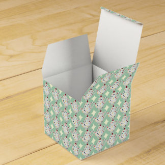 Modelo de la tetera del lunar cajas para regalos