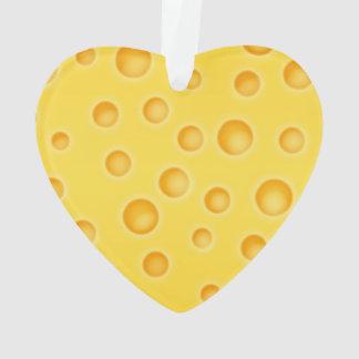 Modelo de la textura de Cheezy del queso suizo