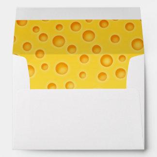 Modelo de la textura de Cheezy del queso suizo Sobres