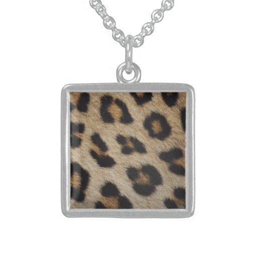 Modelo de la textura de la piel del leopardo joyeria