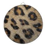 Modelo de la textura de la piel del leopardo tablero de dardos