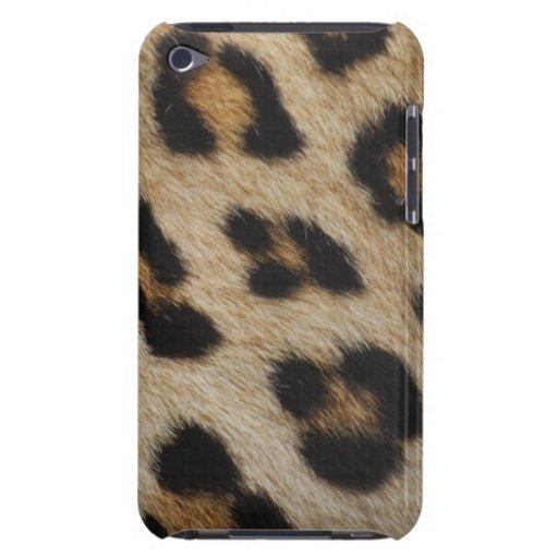 Modelo de la textura de la piel del leopardo iPod touch Case-Mate cobertura