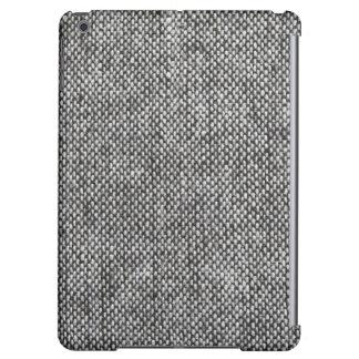 Modelo de la textura de la tela del tweed del gris