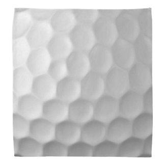 Modelo de la textura de los hoyuelos de la pelota bandana