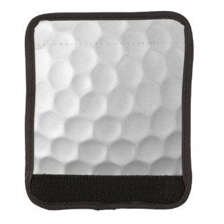 Modelo de la textura de los hoyuelos de la pelota cobertura para asa de maleta