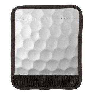 Modelo de la textura de los hoyuelos de la pelota funda para asa de maleta
