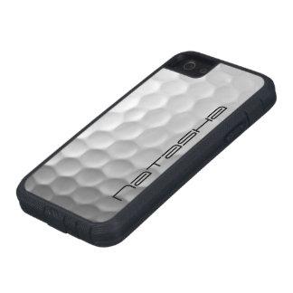 Modelo de la textura de los hoyuelos de la pelota funda para iPhone SE/5/5s