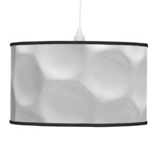 Modelo de la textura de los hoyuelos de la pelota lámpara de techo