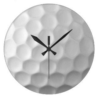 Modelo de la textura de los hoyuelos de la pelota reloj redondo grande