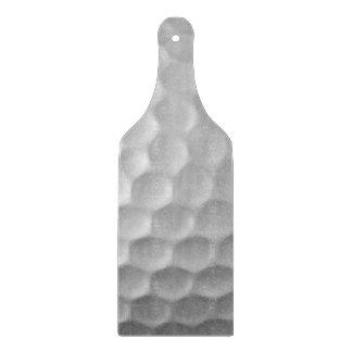 Modelo de la textura de los hoyuelos de la pelota tabla de cortar