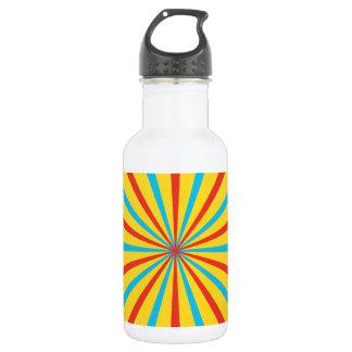 Modelo de la tienda de circo botella de agua