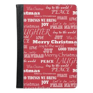 Modelo de la tipografía de las Felices Navidad