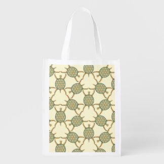 Modelo de la tortuga bolsas de la compra