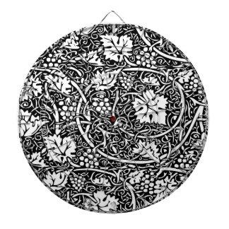 Modelo de la uva del papel pintado floral del vint