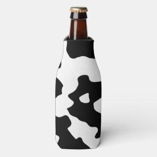 Modelo de la vaca blanco y negro enfriador de botellas