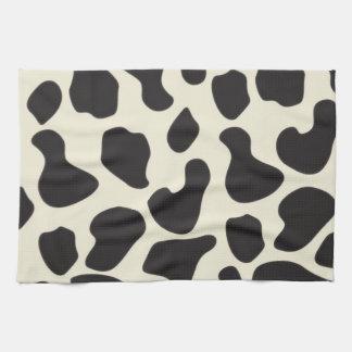 Modelo de la vaca de la piel de la vaca toalla de cocina