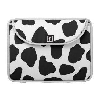Modelo de la vaca funda para macbooks
