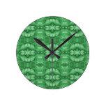 Modelo de la verde menta reloj