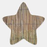 Modelo de lámina calcomanía forma de estrellae