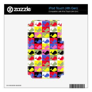 Modelo de las ballenas del o de Andy Skins Para iPod Touch 4G