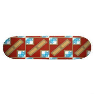 Modelo de las cajas tablas de skate