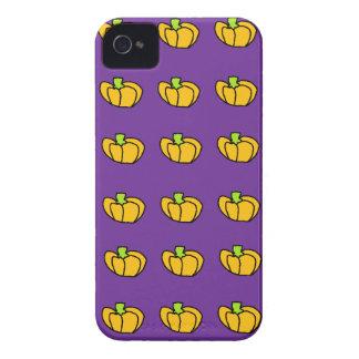Modelo de las calabazas de Halloween iPhone 4 Case-Mate Cobertura