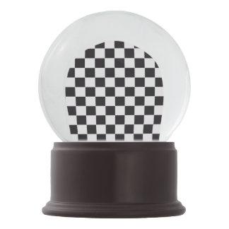 Modelo de las carreras de coches/del ajedrez + su bola de nieve