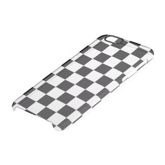 Modelo de las carreras de coches/del ajedrez + su funda clear para iPhone 6/6S
