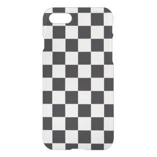 Modelo de las carreras de coches/del ajedrez + su funda para iPhone 7
