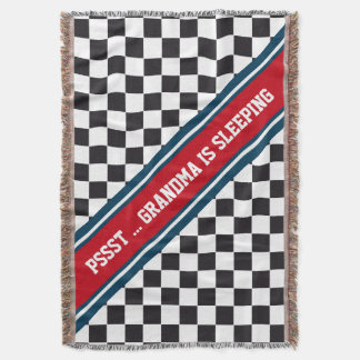 Modelo de las carreras de coches/del ajedrez + su manta