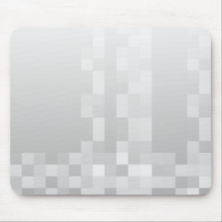 Modelo de las casillas blancas grises claras y alfombrillas de ratones